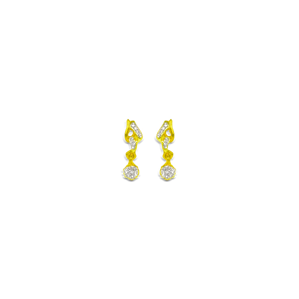 SENORITAS Elegant Stones Studded Earrings