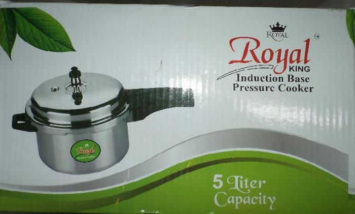Royal King Induction Base Pressure Cooker