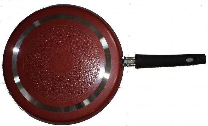 Royal King Non Stick induction Base Fixed Handle Dosa Tawa