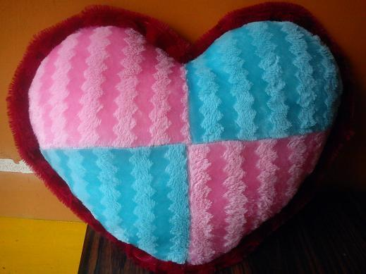 Medium Size Heart in Multi Colour
