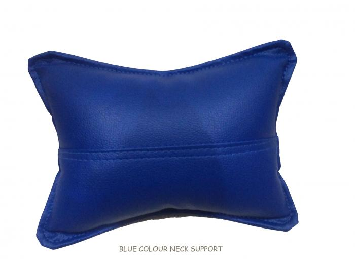 Pair of Bean Bag Neck Support Blue Color