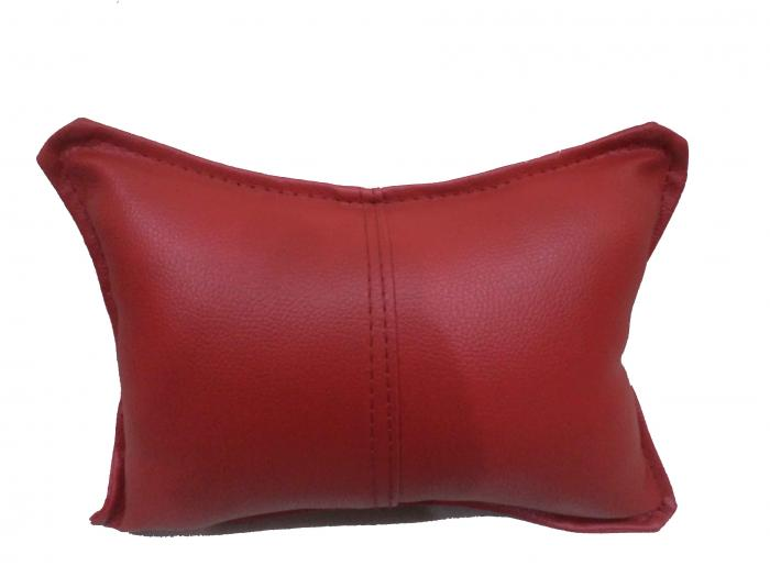 Pair of Bean Bag Neck Support Red