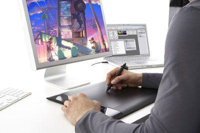 Wacom PTH450 Intuos 5 Touch Small 4 in x 6 OPTH-450
