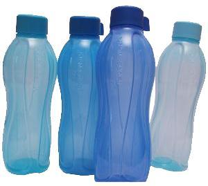 Tupperware Aqua Safe 1 Litre Bottle Set of 4 Pcs
