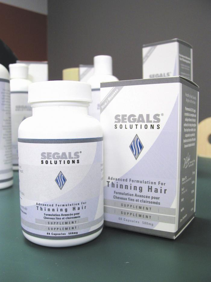 Segals Solutions - Supplement and Advanced Scalp Formula Combo Re-Order Pack