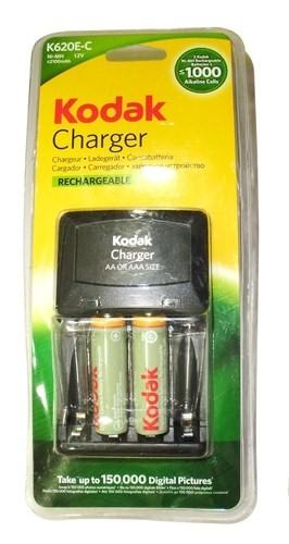 Kodak 2100 mAh AA Size 2 Pcs Rechargeable Battery with Charger