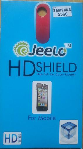 High Defination Screen Protector for Samsung 5560