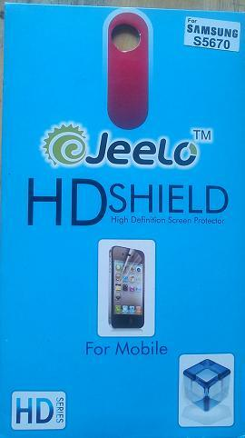 High Defination Screen Protector for Samsung S5670