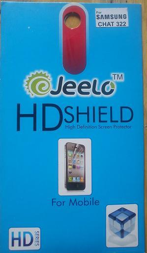 High Defination Screen Protector for Samsung Chat 322