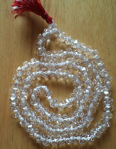 Crystal Mala In China Cutting