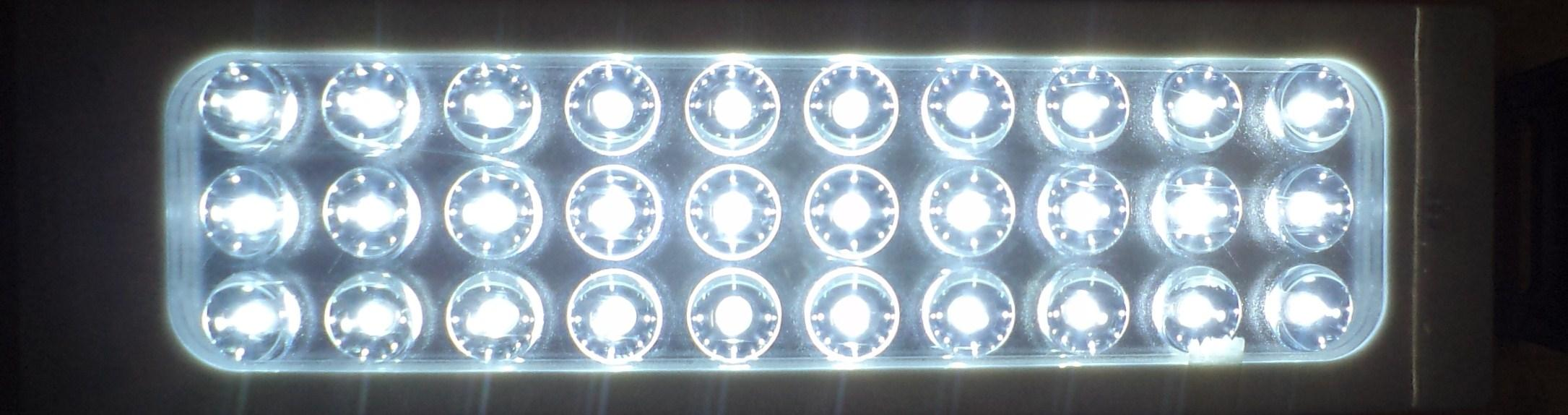 30 LEDs RECHARGEABLE LIGHT