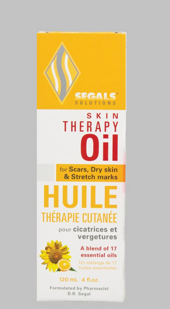 Segals Skin Therapy Oil for Scars, Dry Skin & Stretch Marks