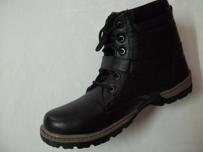 Men Woodland Alike Rado Casual Boot Shoe 100 Leather Size 8